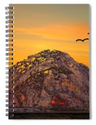 Morro Rock 3007 Spiral Notebook