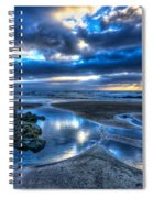 Morro Strand Reflections Spiral Notebook