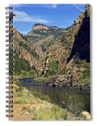 Morrow Point Reservoir Spiral Notebook