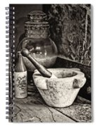 Mortar And Pestle Spiral Notebook