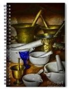 Mortars And Pestles Spiral Notebook