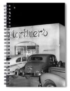 Mortimers Dining  Dancing Marina California  Circa 1948 Spiral Notebook