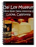 Morton Meets Locke Spiral Notebook