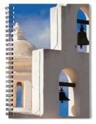 Mortuary Bells At San Xavier Spiral Notebook