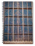 Mosaic Alamo In Glass Spiral Notebook