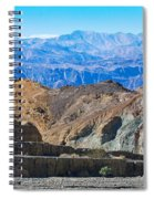 Mosaic Canyon Picnic Spiral Notebook