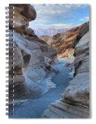 Mosaic Canyon Twilight Spiral Notebook