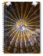 Mosaic Of Christ Pantocrator Spiral Notebook
