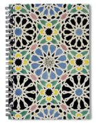 Mosaic Pavement In The Dressing Room Of The Sultana Spiral Notebook
