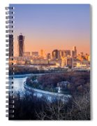 Moscow City Spiral Notebook