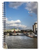 Moscow River - Russia Spiral Notebook