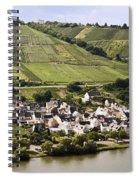 Mosel Wine Village Spiral Notebook