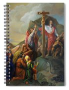 Moses And The Brazen Serpent - Biblical Stories Spiral Notebook