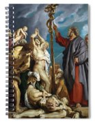 Moses And The Brazen Serpent Spiral Notebook