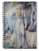 Moses And The Burning Bush Spiral Notebook