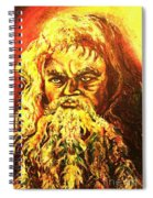 Moses At The Burning Bush Spiral Notebook
