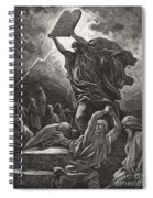 Moses Breaking The Tablets Of The Law Spiral Notebook