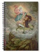 Moses Receives The Tablets Of Spiral Notebook