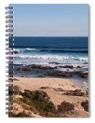 Moses Rock Beach 01 Spiral Notebook