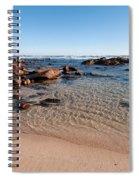 Moses Rock Beach 03 Spiral Notebook