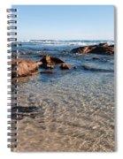Moses Rock Beach 04 Spiral Notebook