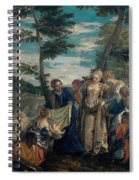 Moses Saved From The Waters Spiral Notebook