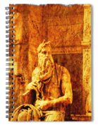 Moses Spiral Notebook