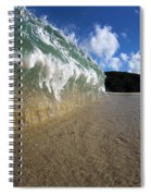 Moses Wave Spiral Notebook