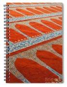 Mosque Carpet Spiral Notebook