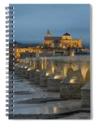Mosque Cathedral Of Cordoba Also Called The Mezquita And Roman Bridge Spiral Notebook