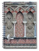 Mosque Cathedral Of Cordoba Also Called The Mezquita Spiral Notebook