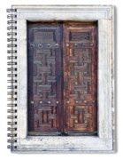 Mosque Doors 01 Spiral Notebook