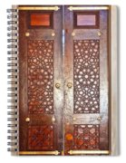 Mosque Doors 03 Spiral Notebook