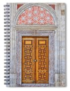 Mosque Doors 04 Spiral Notebook