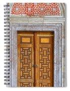 Mosque Doors 05 Spiral Notebook