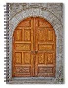 Mosque Doors 06 Spiral Notebook