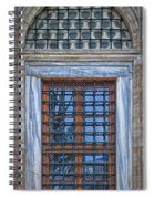 Mosque Window Spiral Notebook