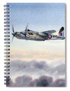 Mosquito Aircraft Spiral Notebook