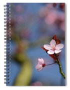 Moss And Blossoms Spiral Notebook