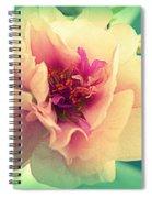 Moss Rose Abstract Spiral Notebook