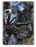 Moss Veils And Illuminated  Spiral Notebook