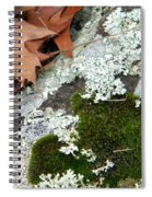 Mossy Leaves Spiral Notebook