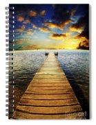 Mossy Point Bridge Spiral Notebook