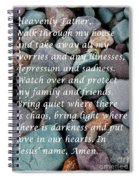 Most Powerful Prayer With Beachrocks Spiral Notebook