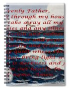Most Powerful Prayer With Ocean Waves Spiral Notebook