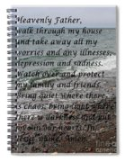 Most Powerful Prayer With Seascape Spiral Notebook