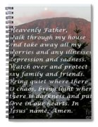 Most Powerful Prayer With Sunset And Moon Spiral Notebook