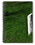 Mostly Green Spiral Notebook