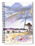 Mota Del Cuervo 02 Spiral Notebook