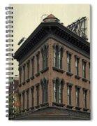 Motel Facade Spiral Notebook